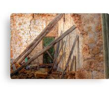 Love Amonst The Ruins - Manna House, Mannum, Murraylands Metal Print