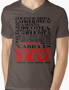 Troy and Abed Mens V-Neck T-Shirt