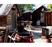 Ore Bucket Photographic Print