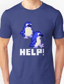 Help! Save the Penguins Cute Pixel Art Shirt (Dark) T-Shirt