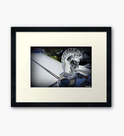 Crystal Knight Framed Print
