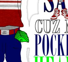 Corporate Pocketz Sticker