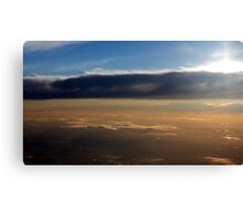 Dawn In The Skies Above England (Adjusted) Canvas Print