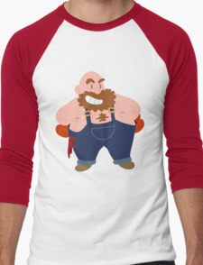 Little Bear Hugger Men's Baseball ¾ T-Shirt