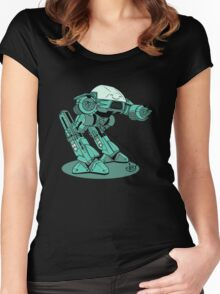 Bow to Your Sensei! Women's Fitted Scoop T-Shirt