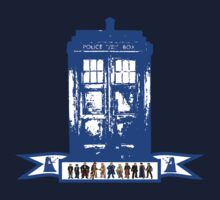 doctor who eleven doctors by ihsbsllc