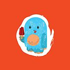Popsicle Yeti: iPhone Case by jeffpina78