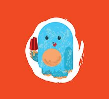 Popsicle Yeti: iPhone Case by jeffpina78