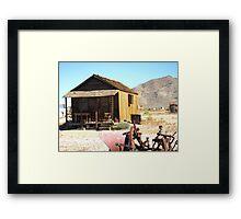 Desert Abode Framed Print