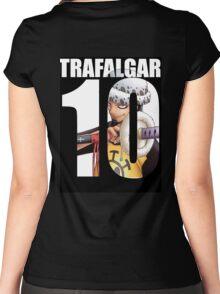 Trafalgar law 10 Women's Fitted Scoop T-Shirt