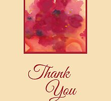 Floral Thank You by Lynne Goodman