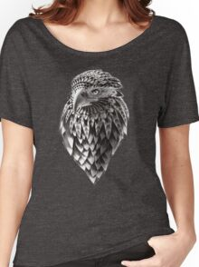 Ornate Tribal Shaman Eagle Print Women's Relaxed Fit T-Shirt