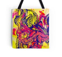 Psychedelic Tentacles  Tote Bag