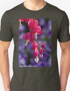 dicentra fuchsia in the garden T-Shirt