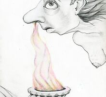 Inhaling the Flame by Carolyn Watson-Dubisch