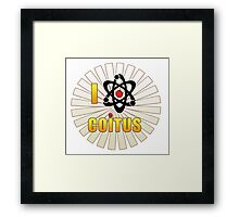 Funny Love Coitus Framed Print