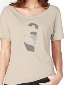 Moai from Easter Island - Gray Women's Relaxed Fit T-Shirt