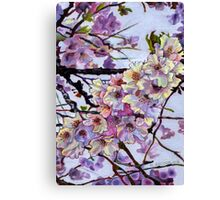 The Cherry Branch Canvas Print
