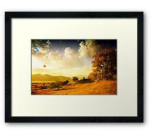 Surreal Autumn Framed Print