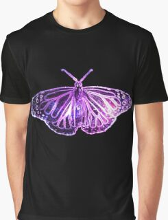 Galaxy Butterfly Graphic T-Shirt