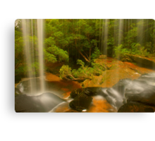 Lower Somersby Falls .. a view sublime Canvas Print
