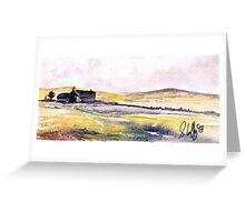 Irish Farmstead Greeting Card