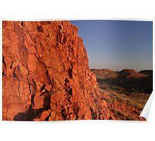 Pilbara Rock Poster