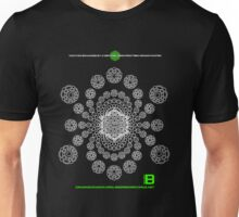 Gratitude Crop Circle Metatron Vortex 22 - oct 2012 Unisex T-Shirt