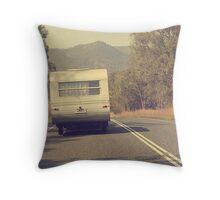 Grey Nomad... Throw Pillow