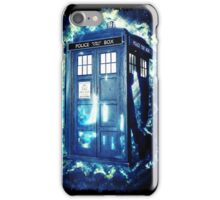 Dr Who Tardis - British Police Box Lost In Space iPhone Case/Skin