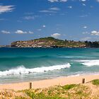 Mona vale beach on sydneys northern beaches by martinberry
