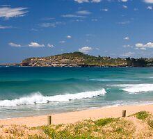 Mona vale beach on sydneys northern beaches by martinberry