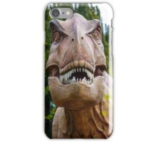 Tyrannosaurus rex with a grin iPhone Case/Skin