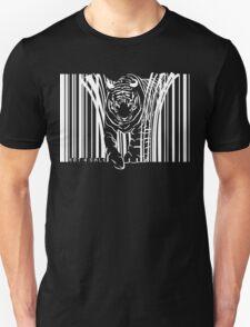 WHITE TIGER BARCODE  T-Shirt
