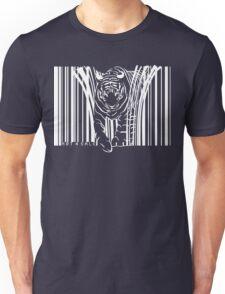 WHITE TIGER BARCODE  Unisex T-Shirt