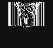WHITE TIGER BARCODE  Unisex T-Shirt