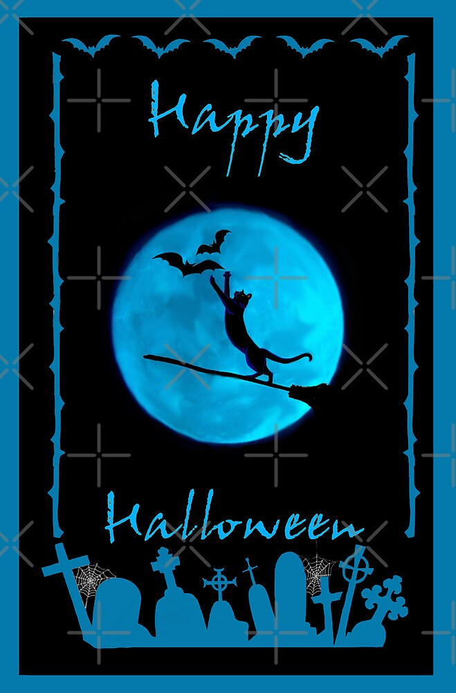 halloween card by Kestrelle