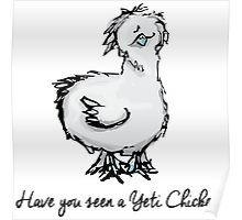 Yeti Chicken Poster