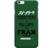 Fran Cough! Green iPhone Case/Skin