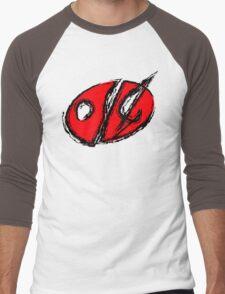 014 by liquatees Men's Baseball ¾ T-Shirt