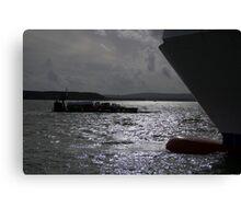 Nautical Silhouettes Canvas Print