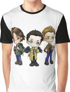 Supernatural cartoon trio Graphic T-Shirt