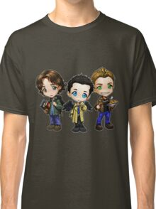 Supernatural cartoon trio Classic T-Shirt
