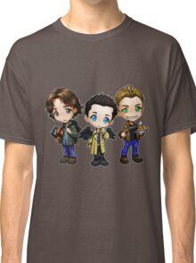 Supernatural cartoon trio Classic T-Shirt