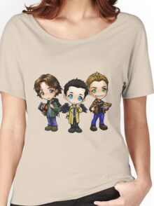 Supernatural cartoon trio Women's Relaxed Fit T-Shirt