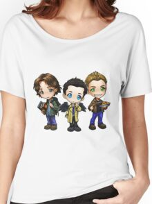 Supernatural cartoon trio Women's Relaxed Fit T-Shirt