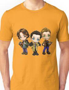 Supernatural cartoon trio Unisex T-Shirt