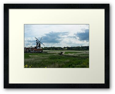 Cley Mill by Adam Davies