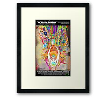 "BGRN-003 Benefit Poster with Archan Nair - ""Hydrascensionism"" Framed Print"