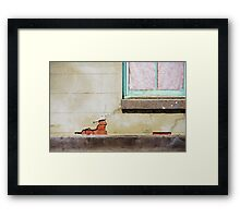 Old places are simply more interesting Framed Print